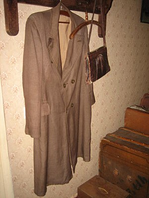 Nikolay Punin - After arrest of Punin his former wife Akhmatova left the coat in its place as a memorial. It is still there, now in the Anna Akhmatova Literary and Memorial Museum