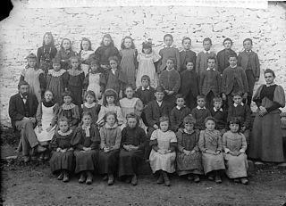 Pupils of the national school, Betws-yn-Rhos
