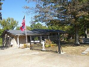 Adamsville, Tennessee - Buford Pusser home