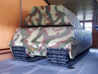 Panzer VIII Maus - The rear of the Maus in the Kubinka tank museum
