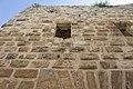 Qal'at Salah ed-Din aka Sahyun Castle inside south wall from entrance to courtyard 4143.jpg