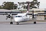 QantasLink (VH-SBT) de Havilland Canada DHC-8-315Q taxiing at Wagga Wagga Airport 1.jpg