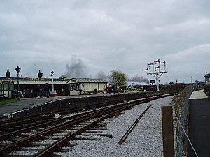 Buckinghamshire Railway Centre - Image: Quainton Road Station geograph.org.uk 18240