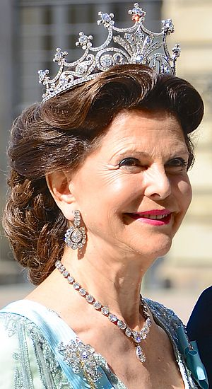Queen Silvia of Sweden - Queen Silvia, 8 June 2013