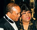 Quincy Jones and Ruth Brown 1995.jpg