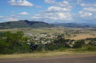 Quirindi Town in New South Wales, Australia