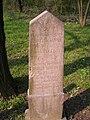 Régi evangélikus temető, Hlotvák János és Szmilek Ilonka sírja, 2008 Oroszlány16.jpg