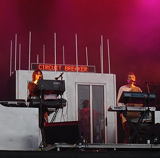 Röyksopp - Röyksopp at the 2005 Glastonbury Festival