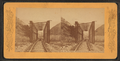 R.R. Bridge, Weber Canyon, Pacific Railroad, from Robert N. Dennis collection of stereoscopic views.png