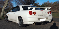 A R34 Skyline 25GT-t coupe