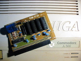 Amiga 500 - An A501 compatible expansion