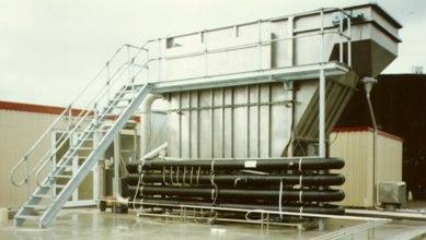 REDOX DAF unit 225 m3-h-1000 GPM