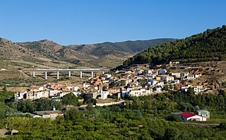 Paracuellos de la Ribera municipality in Aragon, Spain