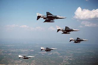 67th Cyberspace Wing - Wing RF-4Cs at Bergstrom AFB