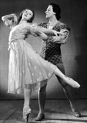 Galina Ulanova - Galina Ulanova and Yuri Zhdanov in the Romeo and Juliet ballet