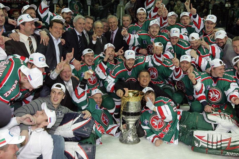 RIAN archive 386859 KHL finals - Ak Bars vs. Lokomotiv Yaroslavl 1-0