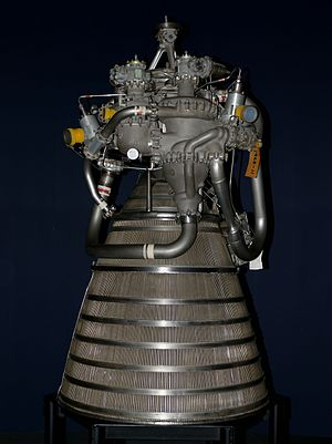 RL10 - An RL10A-4 engine in London's Science Museum