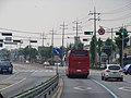 ROK National Route 6 Gyomun Crossroad BS-Ttalgiwon BS(Westward Dir) 3.jpg