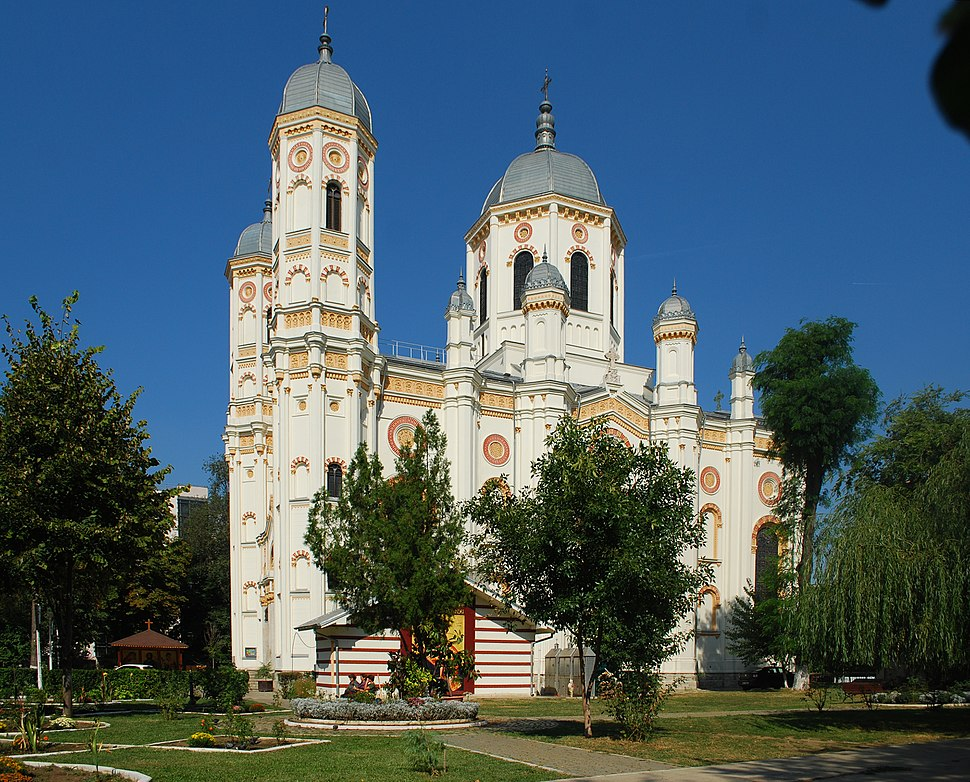 Catedrala Sf. Spiridon Nou, cel mai mare lăcaș de cult ortodox din București