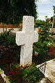 RO PH Scaeni church yard cross.JPG