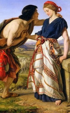 Rachel - Rachel and Jacob by William Dyce