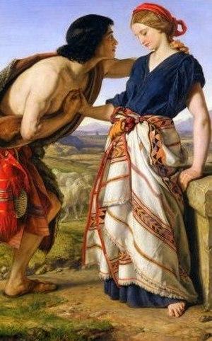 Rachel - Rachel and Jacob by William Dyce
