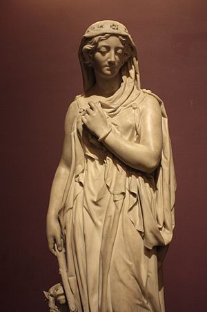 John Thomas (sculptor) - Rachel by John Thomas, 1856, Victoria and Albert Museum