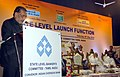 Radha Mohan Singh addressing after the launching the Pradhanmantri Suraksha Bima Yojana, in Chennai . The Governor of Tamil Nadu, Dr. K. Rosaiah and the Minister for Electricity, Tamil Nadu.jpg