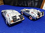 Radio controlled car of De Lorean ver.Back To The Future Part.I&III.JPG