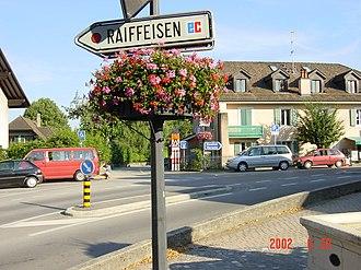Mies - Image: Raiffeisen