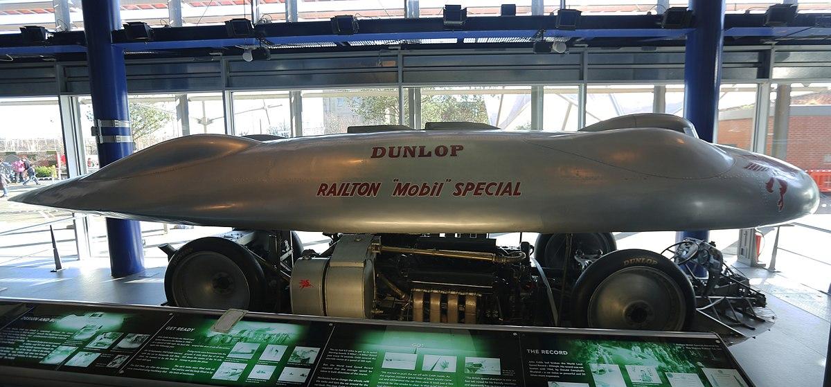 Land Speed Record >> Railton Special - Wikipedia