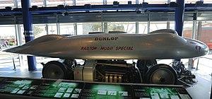 Railton Special - The Railton Mobil Special on display at the Thinktank Museum, Birmingham.
