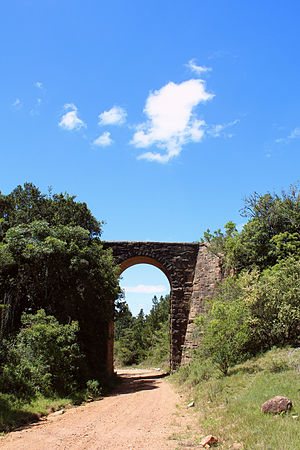 Guybon Atherstone - Railway bridge built by Guybon Atherstone on the line between Alicedale and Grahamstown