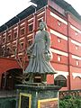 Raja Kesava Das Statue in Alleppey - Changanassery Road @ Changananassery Junction.jpg
