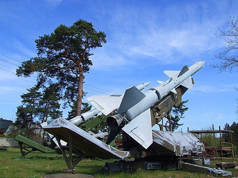 System S-75 Dźwina w muzeum w Skarżysku-Kamiennej
