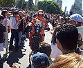 Rally Dakar Buenos Aires Cristian Romero ARG moto KTM participante 154.jpg