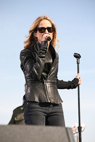 Rally to Restore Sanity and/or Fear - Sheryl Crow, one of several guests at the rally