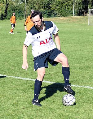 Ralf Little - Little playing in a charity match, September 2016