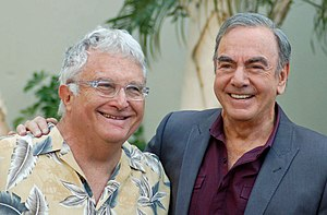 Randy Newman - Newman with Neil Diamond in August 2012