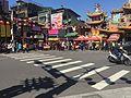 Raohe Street Night Market East Entrance in Chinese New Year 20160208.JPG