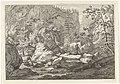 Ravijn met rotsblokken en bomen Landschappen in het Chartreuzer-gebergte (serietitel), RP-P-OB-52.748.jpg