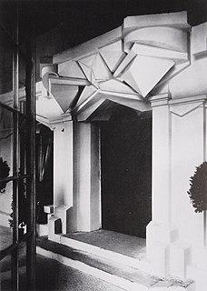1912 architectural installation