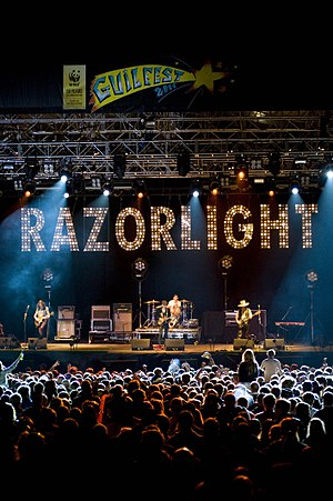 Razorlight - Razorlight at GuilFest in July 2011