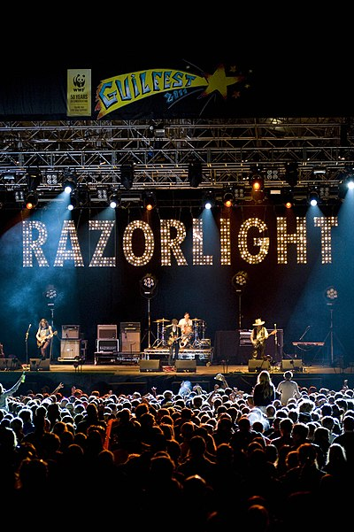 Picture of a band or musician: Razorlight