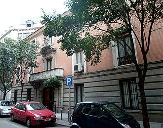 Royal Academy of Jurisprudence and Legislation - Image: Real Academia de Jurisprudencia y Legislación (España) 01