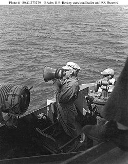 Russell S. Berkey United States admiral