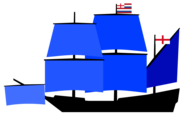 Rear Admirals flagship of the Lord Admirals Squadron English Navy (1596)