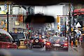 Rearview mirror and Yonge Street traffic.jpg