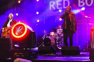 Red Box (band) - Image: Red Box, Warsaw, 2013 12 06