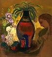Redon - Vase of Flowers - Large Composition, 1913.jpg